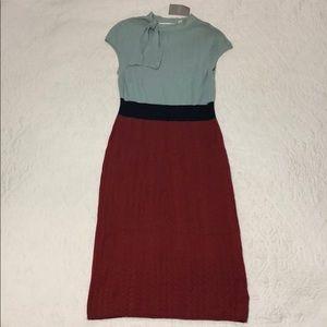 Anthropologie Charlie & Robin Knit Dress sz L NWT